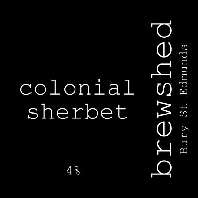 colonial sherbet 4.0%