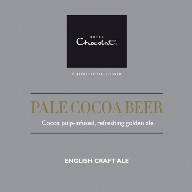 Hotel Chocolat pale cocoa 4.9%