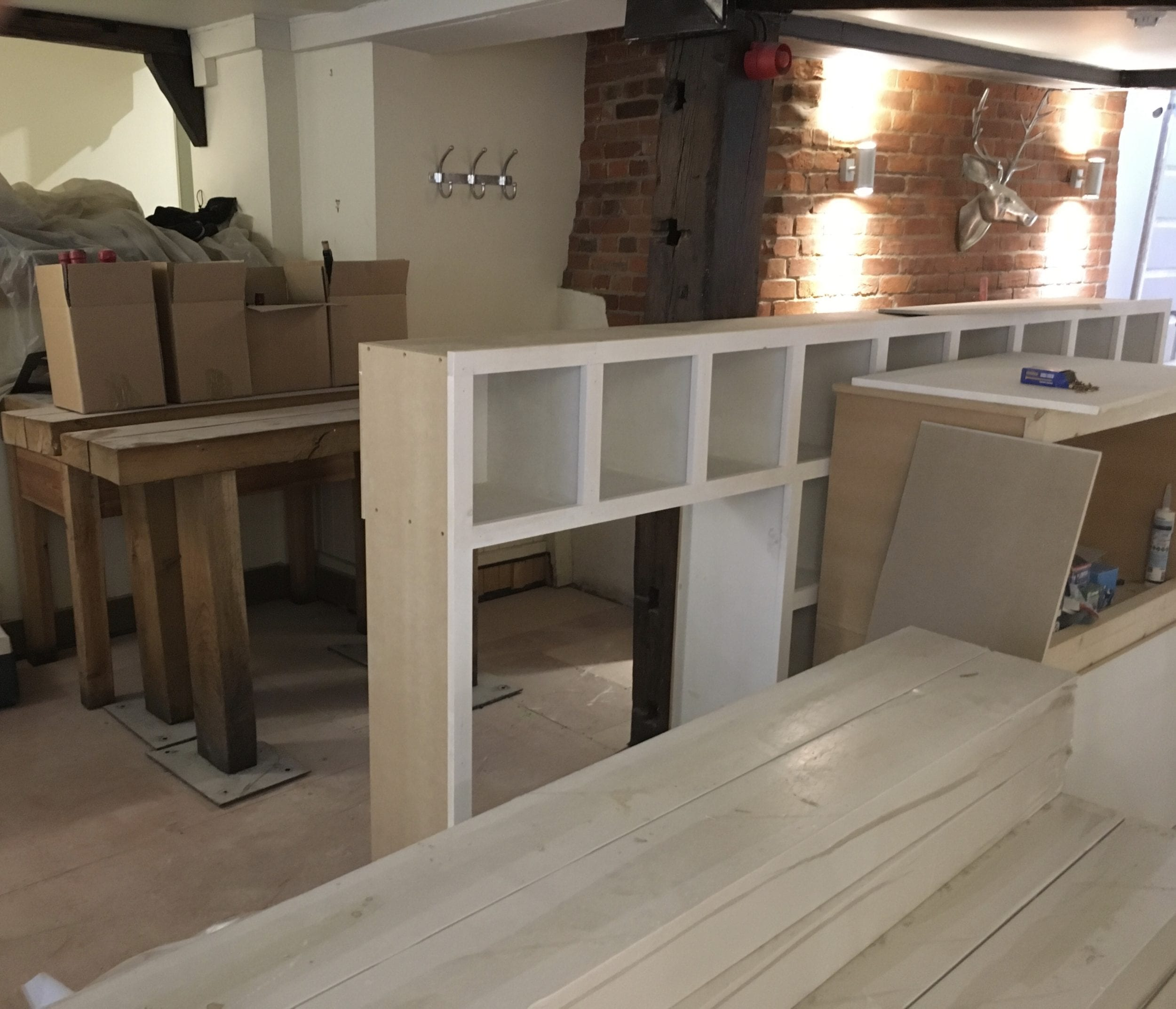 the one bull – re-opening soon