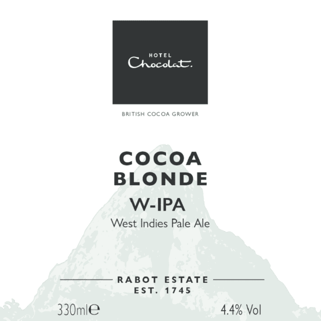 Hotel Chocolat cocoa blonde 4.4%