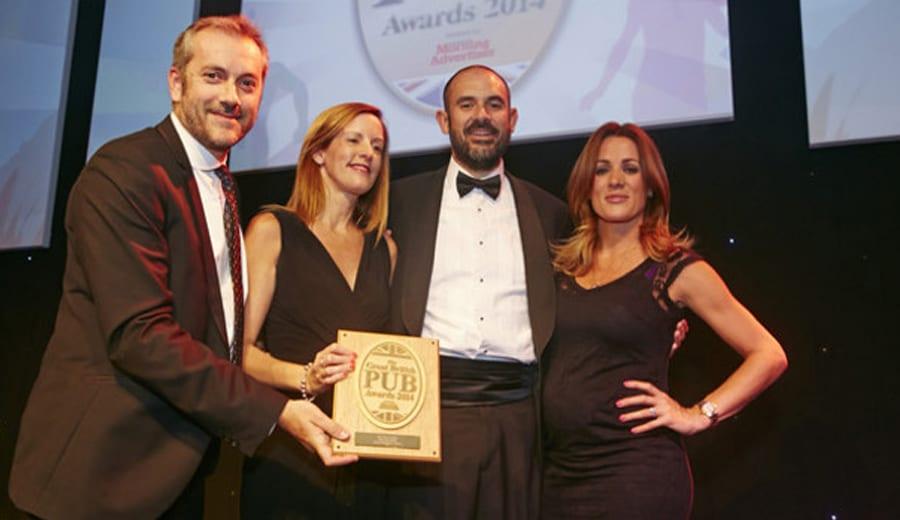great British pub awards 2014