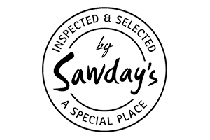 Inspected and selected by Sawday's the one bull